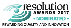 Resolution Awards 2017 PRODUCT NOMINATED