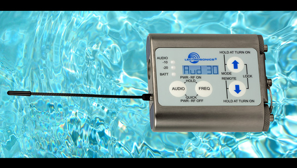 Lectrosonics WM Water Resistant Transmitter