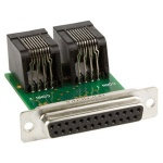 Lectrosonics DB2CAT5 - Adapter for pre-wired connections between processor logic ports and RCWPB8 remote control