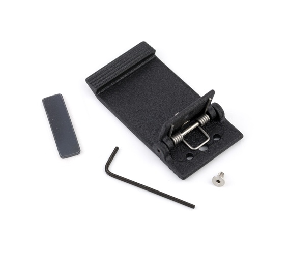 Lectrosonics CHINGED - Rugged aluminum hinged belt clip kit for UM and LM transmitter
