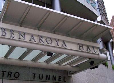 Benaroya Hall in Seattle Washington with Lectrosnics