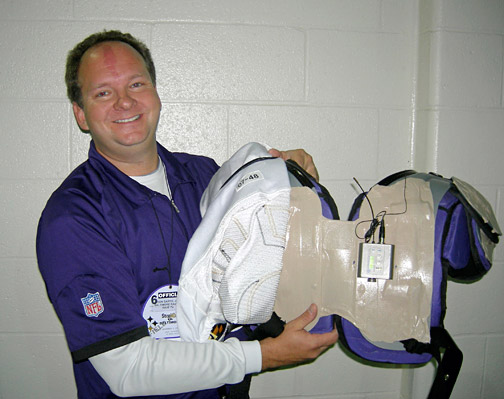 NFL's Baltimore Ravens mic'ed up with Lectrosonics