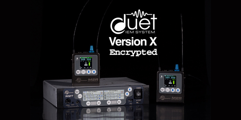 Lectrosonics Duet VersionX Encrypted