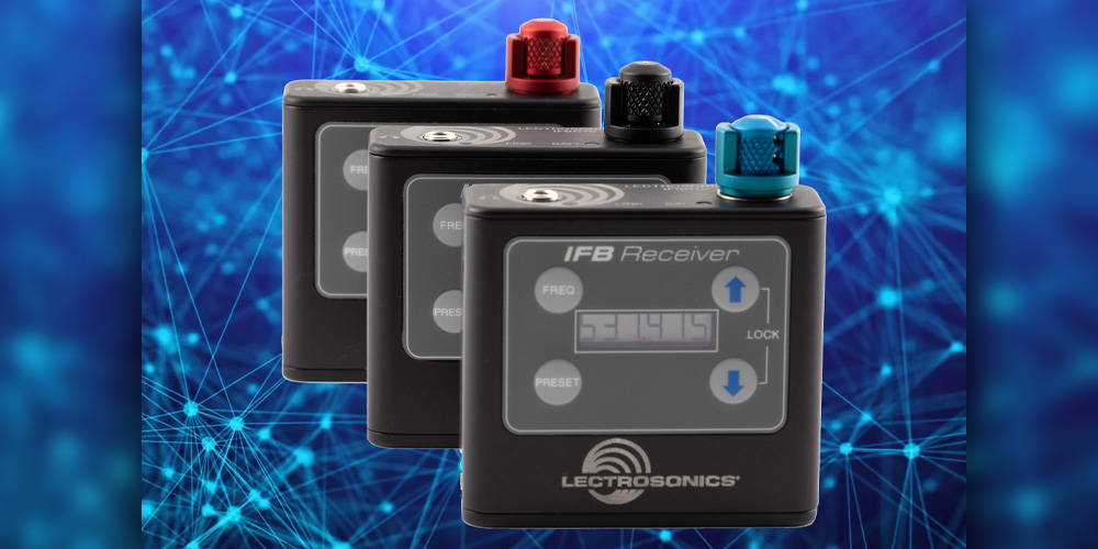 Lectrosonics Introduces the Next Generation IFBR1B