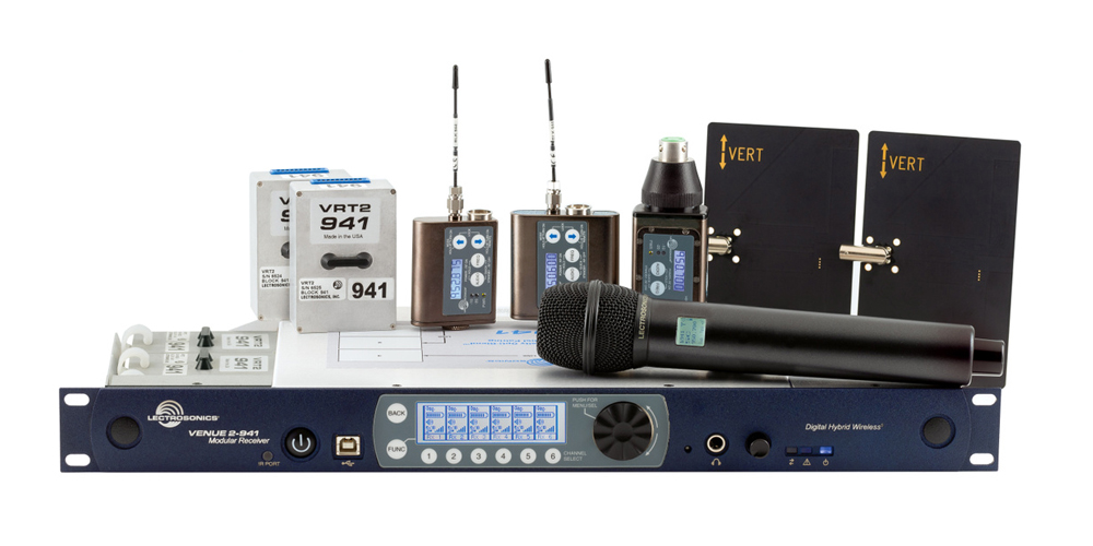 Lectrosonics Venue2 Receiver System Now Available in 941