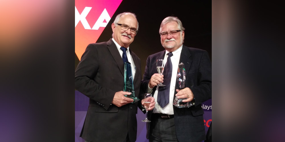 President Gordon Moore Honored with AVIXA Award