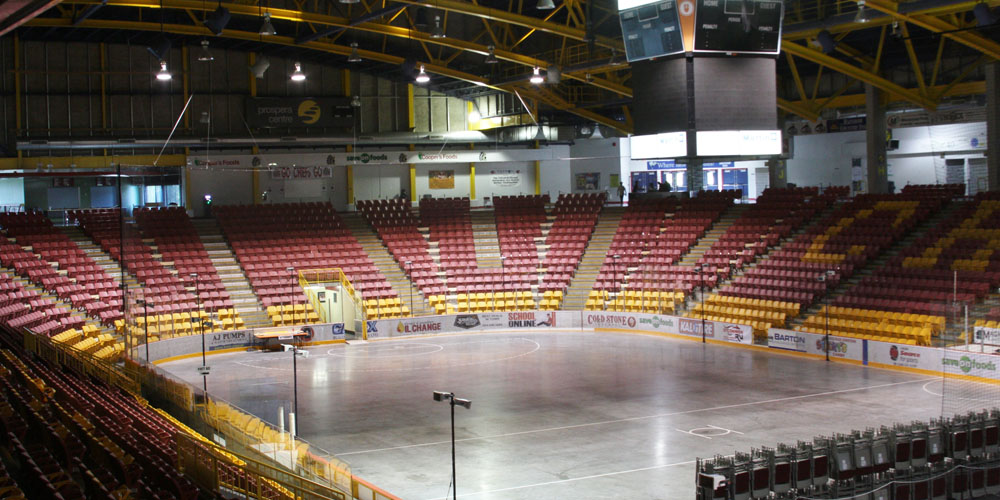 Lectrosonics at the Prospera Centre in British Columbia, Canada