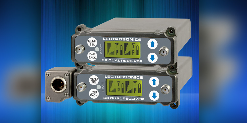Lectrosonics SRc & SRc5P Dual Channel Receivers