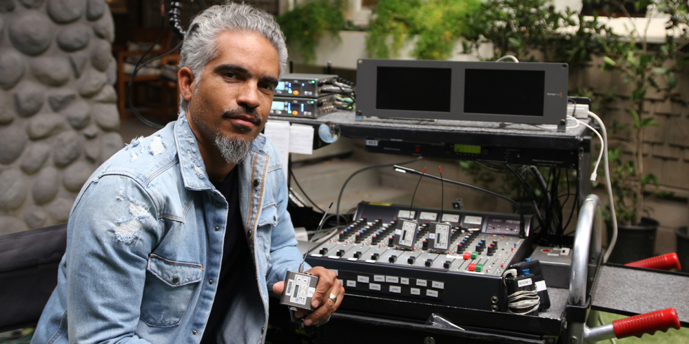 Two Time Emmy Nominated Sound Mixer Bryan Sol Aponte Counts on Lectrosonics