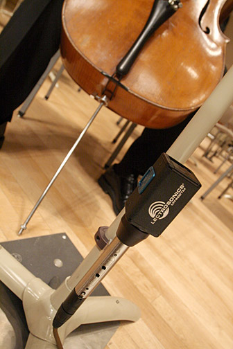 The Boston Symphony Orchestra with Lectrosonics gear