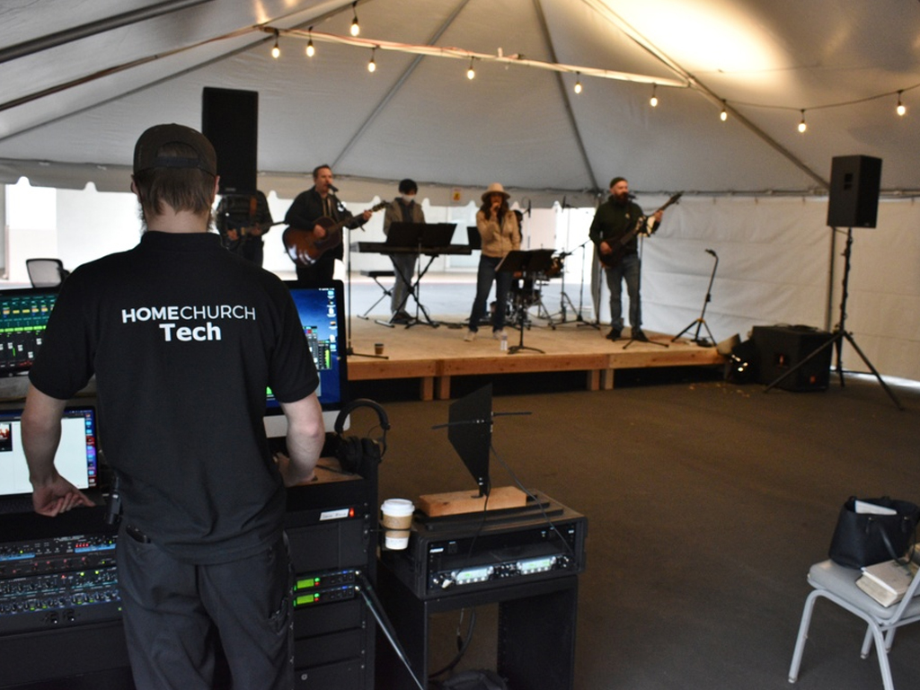 Zamar Media Solutions and Home Church Pack Maximum Channels into Minimum Bandwidth with Lectrosonics D-Squared System