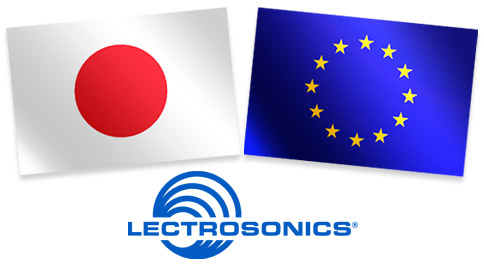 Lectrosonics To Distribute in Europe and Japan