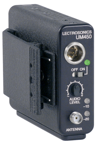 Lectrosonics UM450 wireless transmitter