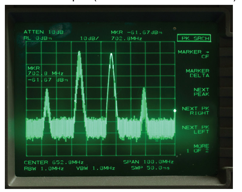 Frequency Scope Photo