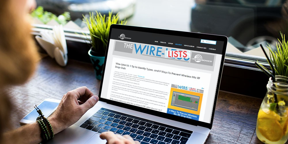 Lectrosonics Introduces The Wire Lists