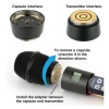 Lectrosonics adapter allows for mounting microphone capsules