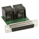 Lectrosonics DB2CAT5SPN - Adapter for pre-wired connections between processor logic ports and the RCWPB8