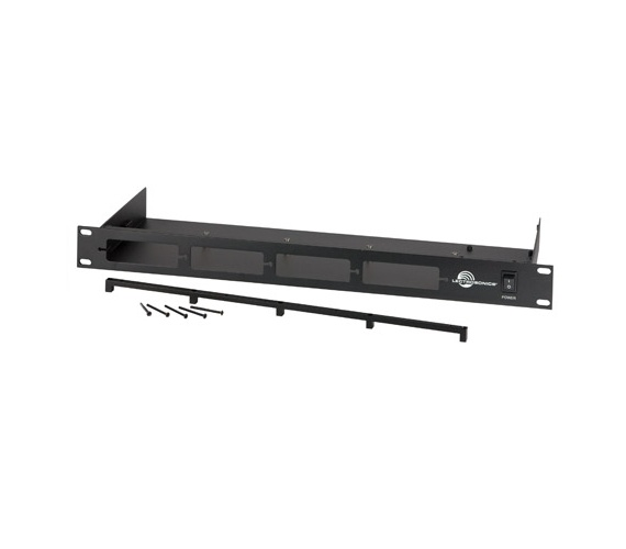 Lectrosonics RMP195 - Mechanical rack mount for compact receivers such as the UCR411A and the IFB T4 transmitter.