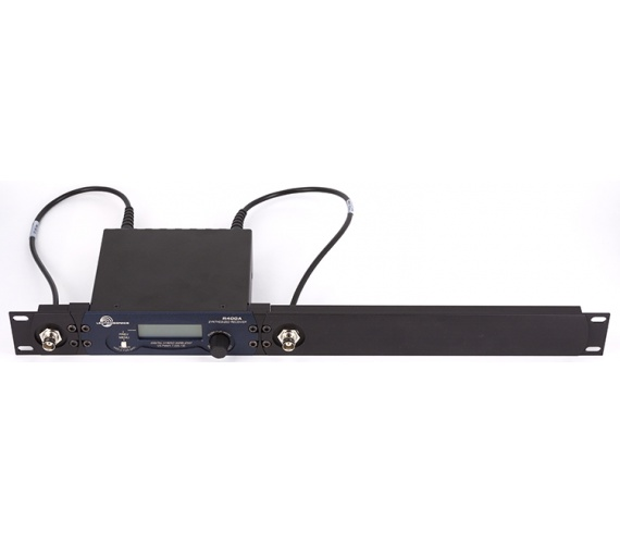 RMPR400B-1 Single R400a-Ver2 Rack Mount Kit with Receiver