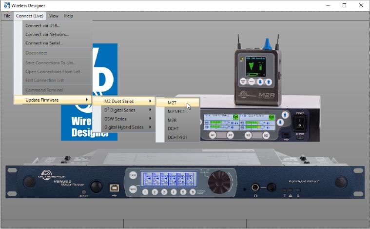 Update M2T Transmitter Firmware