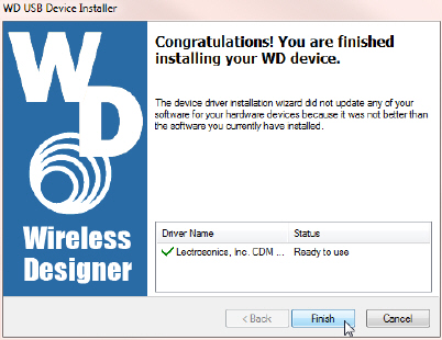 Install USB Drivers for DR, DSQD and M2T